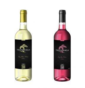 grafistas-gia-etiketa-krasiou-logotypo-sxediasmos-sxediasi-packaging-rose-leyko-wine