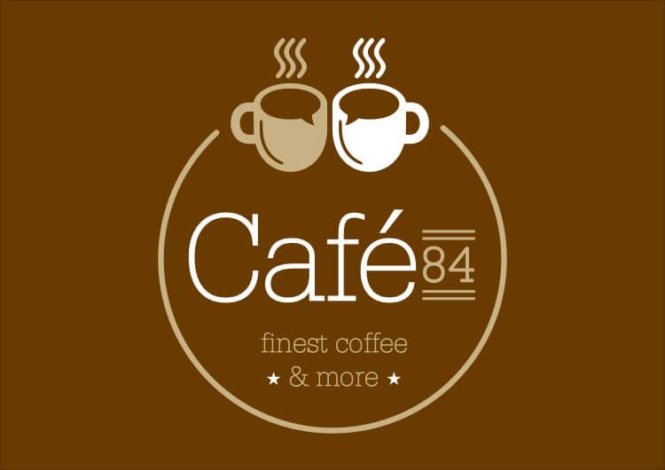 LOGO CAFE 84 L 3 3