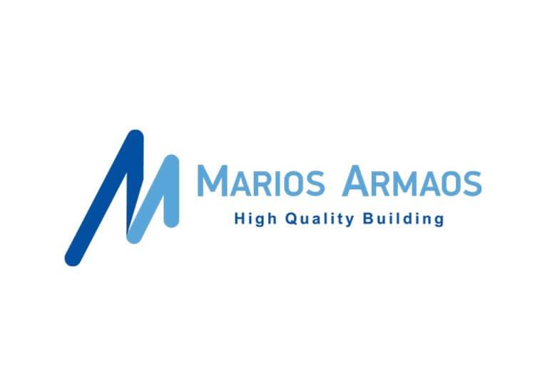 MARIOS ARMAOS - ΛΟΓΟΤΥΠΟ ΓΙΑ ΚΑΤΑΣΚΕΥΑΣΤΙΚΗ ΕΤΑΙΡΕΙΑ