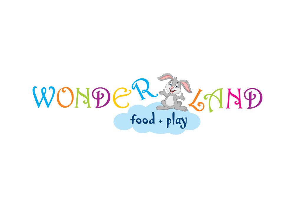 Σχεδιασμός λογοτύπου για παιδότοπο, εστιατόριο, καφέ