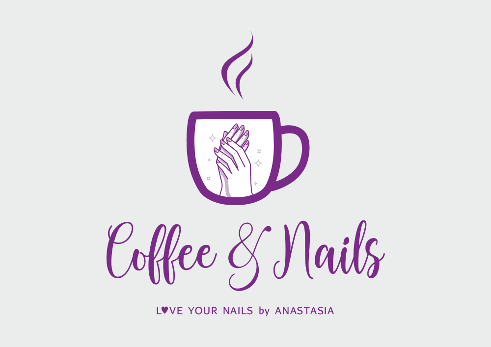 ΛΟΓΟΤΥΠΟ COFFEE & NAILS FOR NAILS SALON