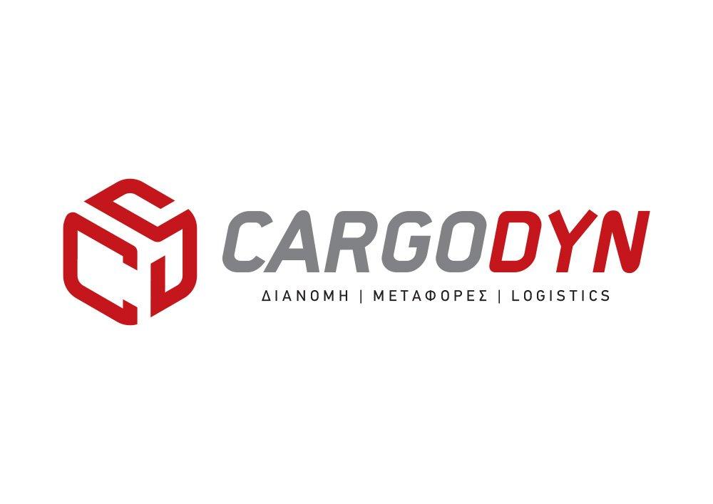 λογότυπο για διανομή μεταφορές logistics