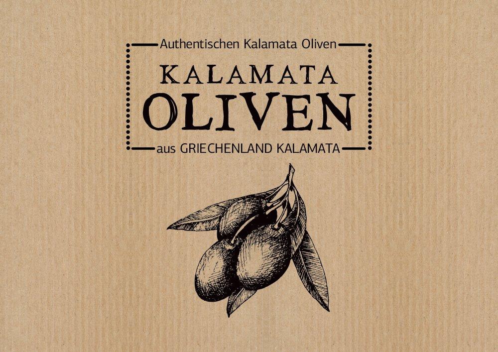 λογότυπο για ελιές Καλαμών