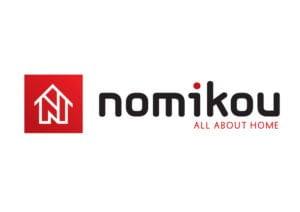 Σχεδιασμός λογοτύπυπυ για NOMIKOU eshop - σχεδιασμός λογοτύπου από γραφίστα